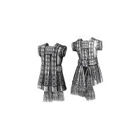 1879 Dress for Girl 2-4 Years Pattern
