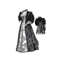 1894 Reception Dress for Elderly Lady Pattern