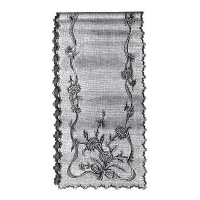 1894 Embroidered Table or Bureau Scarf Pattern