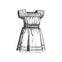 1894 Summer Frock for Child 1-2 Yrs