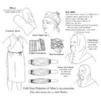 1740-1830 Men's Accessories Pattern