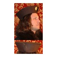 1480-1530's Men's Henry VII, French Bonnet, or Myllan Cap Pattern