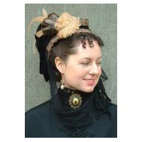1871 Mid-Victorian Winter Bonnet