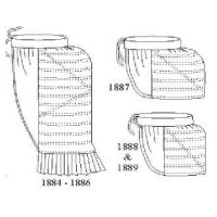 1880s Bustle Pattern