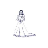 1500-1630 French Gown Pattern