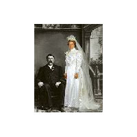1899 Wedding Gown Pattern
