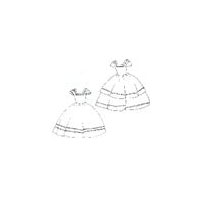 Girl's Walking Dress Pattern