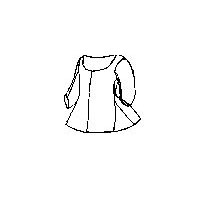 1760-1775 Women's Jacket Pattern