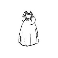 1837 Day Dress Pattern