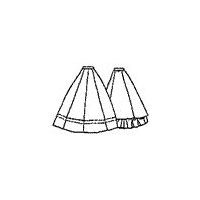 1860s Gored Skirt Pattern