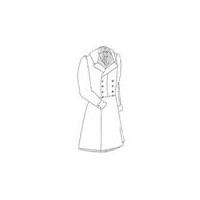1840s Double Breasted Frock Coat Pattern