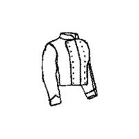 1850s to 1860s Civil War Era Double Breasted Shell Coat Pattern