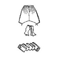1800s Zouave Pants Pattern