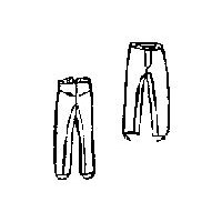1850s to 1860s Cavalry Pants Pattern