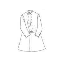 1850s to 1860s U.S. Infantry Major's Frockcoat Pattern