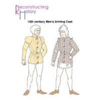 15th Century Burgundian Arming Coat Pattern by Reconstructing History