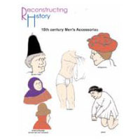 15th century Man's Accessories Pattern by Reconstructing History
