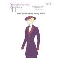 1910s Ladies' Darted Riding Jacket Pattern