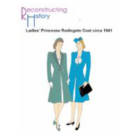 1941 Ladies' Redingote Coat Pattern