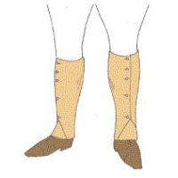1915 Gaiters Pattern