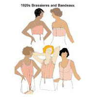 1920s Brassieres and Bandeaux Pattern