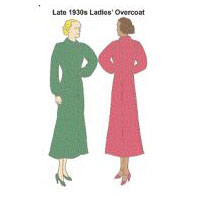 1930s Ladies' Overcoat Pattern