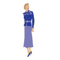 1930s One-Piece �Business� Dress Pattern