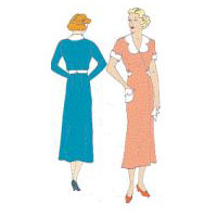 1930s House Dress Pattern
