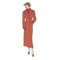 1930s Coat Pattern by Reconstructing History