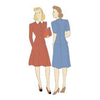 1942 Jacket and Skirt Pattern