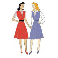 1942 Bias-Cut Jumper and Blouse Pattern