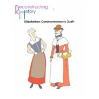 Elizabethan Commonwomen's Outfit Pattern