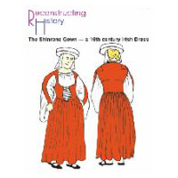 16th Century Irish Dress Pattern - The Shinrone Gown