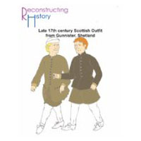 17th Century Scottish Outfit from Gunnister Pattern
