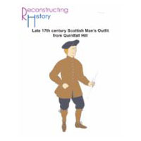 17th Century Scottish Man's Outfit from Quintfall Hill Pattern
