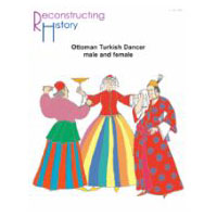 Ottoman Turkish Dancer (Male and Female) Pattern