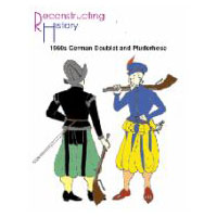 1560s German Doublet and Pluderhose Pattern