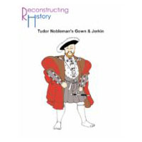 Early Tudor Noble Man's Outfit - Gown and Jerkin Pattern