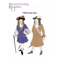 1680s Through Early 1700s Frock Coat Pattern