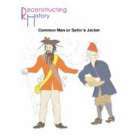 Common Man or Sailor's Jacket Pattern