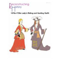 1670s-1720s Lady's Riding Outfit Pattern