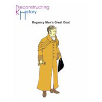 Regency Men's Great Coat Pattern