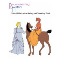 1790s-1810s Lady's Riding or Traveling Outfit Pattern