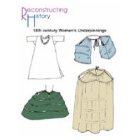 18th century Women's Underpinnings Pattern