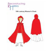 18th Century Women's Cloak Pattern