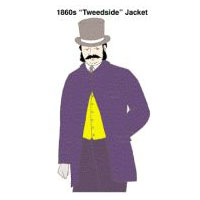 "1860s ""Tweedside"" Jacket Pattern"