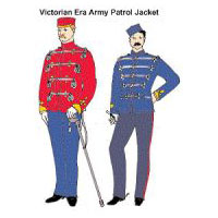 Victorian British Army Patrol Jacket Pattern