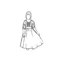 18th CenturySmall Girls Gown Pattern