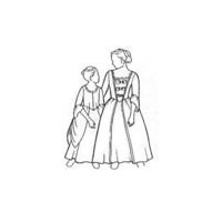 18th Century Girls Gown Pattern