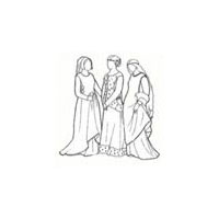 14th and 15th Century Sideless Gowns Pattern